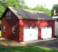 24x36 Garage Plans by 2 Car 2 Story Garage Two Story Garage Horizon Structures
