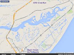 Map Of Hilton Head Island Running And Biking And Swimming On Hilton Head Island