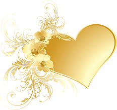 Gold Flowers Yellow Rose Clipart Gold Heart Pencil And In Color Yellow Rose
