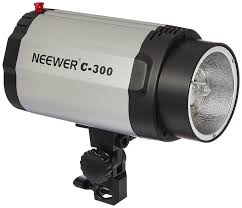photography strobe lights for sale amazon com neewer 300w strobe flash light for studio location and
