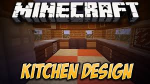 how to make a simple kitchen design in minecraft youtube