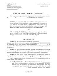 Contract Termination Notice Notice Of Termination Of Employment Sample Philippines Image