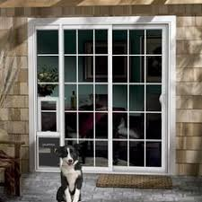 Vinyl Patio Pet Door Pet Door Ideas Product Jeld Wen Premium Vinyl Sliding Patio