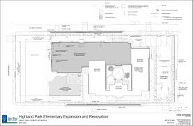 facilities master plan highland park elementary design