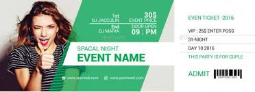 ticket template free download 46 print ready ticket templates psd for various types of events