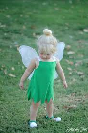 tinkerbell costume diy toddler tinker bell costume and hair sincerely jean