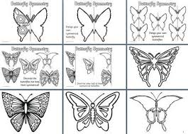 free spring teaching resources downloadable butterfly symmetry