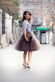 spodnica tiulowa tiulowa spódnica romantyczny trend