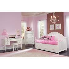 bedroom comfortable white daybeds with trundle with colorful