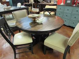 plank dining room table antique