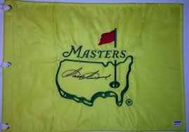 Masters Flag Sam Snead Signed Masters Flag Undated Autographed Augusta National
