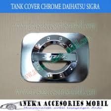 Daihatsu Sigra Trunk Lid Cover Chrome garnish tutup bensin daihatsu sigra garnish tutup bensin chrome