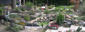 Garden Railroad Layouts Add The Element Of Motion To Your Garden With A Model Railway