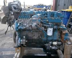 1994 international dt466 210hp engine youtube