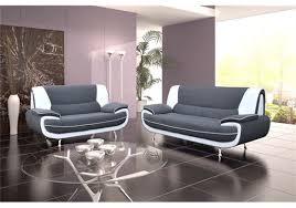 canap 3 2 places tissu canapé design 3 2 bregga noir blanc noir gris blanc chocolat
