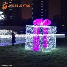 Decorative Christmas Boxes Light Up by L 2m H2 2m Outdoor Light Up Large Decorative Led Christmas Gift