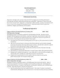 Retail Management Resume Samples by Warehouse Supervisor Resume Samples Resume For Your Job Application