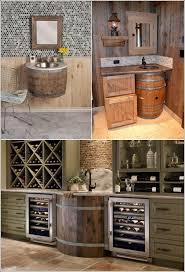 Wine Barrel Vanity Best 25 Barrel Sink Ideas On Pinterest Rustic Bar Glasses