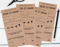 advice to the and groom cards mr and mrs wedding advice cards newlywed advice cards