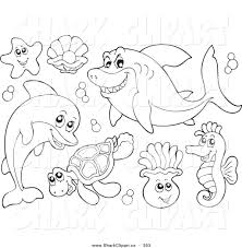 marine life free coloring pages on art coloring pages