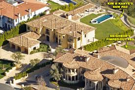 Mediterranean Style Mansions Kim Kardashian And Kanye West House Photos U2013 Moejackson