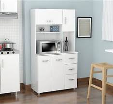 kitchen cabinet with microwave shelf kitchen cabinet microwave stand utility pantry cart storage wood