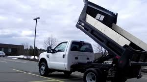 Ford F350 Landscape Truck - 2008 ford f350 xl 9ft rugby mason dump truck 4x4 4wd 6 4l