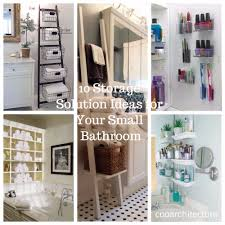 10 storage solution ideas for your small bathroom coo architecture