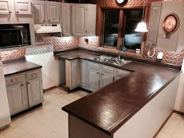 Painted Kitchen Countertops by 9 Best Countertops Images On Pinterest Kitchen Cabinets Kitchen