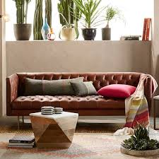 modern chesterfield sofa elm modern chesterfield leather sofa 79 chesterfield