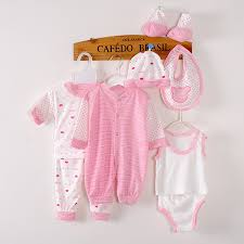 8 pieces baby gift set 0 3 months newborn clothes unisex baby s sets