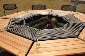 Firepit Grill Firepit And Grill Plan Ideas Rustzine Home Decor