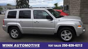 silver jeep patriot black rims home winn automotive