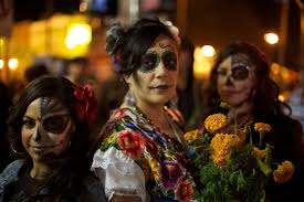 file dia de los muertos celebration in mission district of san