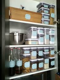 Organizing Kitchen Pantry Ideas The Social Home Inside Your Pantry Oxo Containers Long