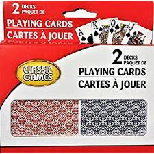 classic cards large print 2 decks