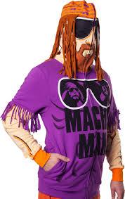 Macho Man Randy Savage Halloween Costume Macho Man Randy Savage Wwe Zip Mens Hoody Sweatshirt Ebay