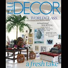 Elle Decor Magazine Photos Of Nabil Nahas Apartment From Elle Decor April Issue