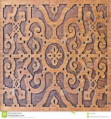 wood carving antique skillful pattern stock photo image 41619059