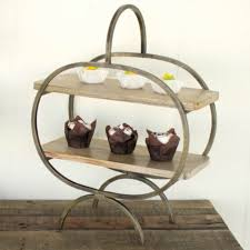 tiered serving stand wood and iron tiered serving stand antique farmhouse