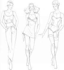694 best doodle fashion drawing images on pinterest fashion