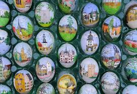 painted easter eggs don t tell the easter bunny german decorate garden tree