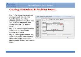 an introduction on bi publisher u0026 jd edwards integration