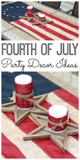 Fourth Of July Tablecloths by Fourth Of July Party Decor The Country Chic Cottage