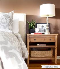 Wood Furniture Plans For Free by Diy Bedside Table With Drawer And Shelf Free Plans