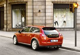 the new volvo c30 with a sporty new front and even more choice