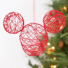 mickey string ornament ornament craft and glue guns