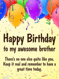 free brother birthday cards gallery free birthday cards