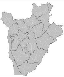 Burundi Map Burundi Communes U2022 Mapsof Net