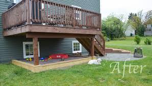 porch building plans raised deck designs space back building plans 71662